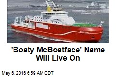 'Boaty McBoatface' Name Will Live On