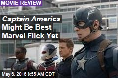 Captain America Might Be Best Marvel Flick Yet