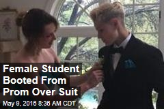Female Student Booted From Prom Over Suit