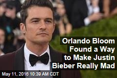 Orlando Bloom Found a Way to Make Justin Bieber Really Mad