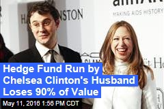Hedge Fund Run by Chelsea Clinton's Husband Loses 90% of Value
