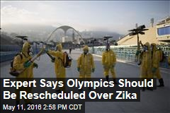 Expert Says Olympics Should Be Rescheduled Over Zika