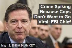 Crime Spiking Because Cops Don't Want to Go Viral: FBI Chief