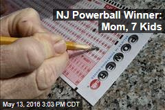 NJ Powerball Winner: Mom, 7 Kids