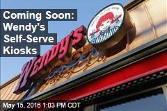 Coming Soon: Wendy's Self-Serve Kiosks