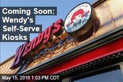 Coming Soon: Wendy's Self-Serve Kiosks