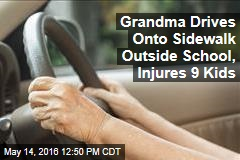 Grandma Drives Onto Sidewalk Outside School, Injures 9 Kids