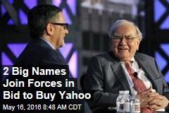 2 Big Names Join Forces in Bid to Buy Yahoo