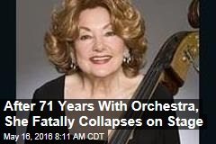 After 7 Decades With Same Orchestra, She Dies on Stage