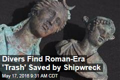 Divers Find Roman-Era 'Trash' Saved by Shipwreck