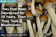 Magic Mushrooms Could Be the Answer to Severe Depression