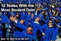 10 States With the Most Student Debt