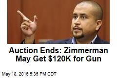 George Zimmerman Sells Gun at Auction