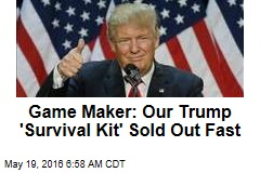 Cards Against Humanity's Trump Cards Sell Out Fast
