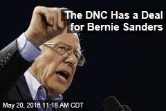 The DNC Has a Deal for Bernie Sanders