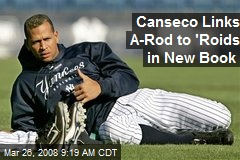 Canseco Links A-Rod to 'Roids in New Book