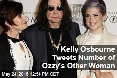 Kelly Osbourne Tweets Phone Number of Ozzy's Other Woman