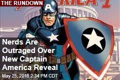 Nerds Are Outraged Over New Captain America Reveal