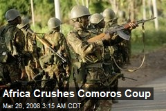 Africa Crushes Comoros Coup