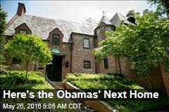 Here's the Obamas' Next Home