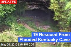 19 People Trapped in Kentucky Cave