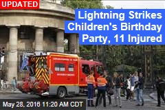 Lightning Strikes Children's Birthday Party, 11 Injured