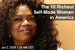 The 10 Richest Self-Made Women in America