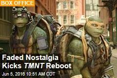 Faded Nostalgia Kicks TMNT Reboot