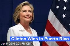 Clinton Wins in Puerto Rico