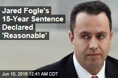 Jared Fogle's Appeal Shot Down