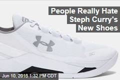 People Really Hate Steph Curry's New Shoes