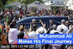 Muhammad Ali Makes His Final Journey