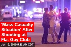 'Mass Casualty Situation' After Shooting at Fla. Gay Club