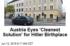 Austria Eyes 'Cleanest Solution' for Hitler Birthplace