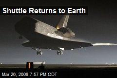 Shuttle Returns to Earth