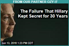 The Failure That Hillary Kept Secret for 30 Years