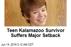 Teen Kalamazoo Survivor Suffers Major Setback