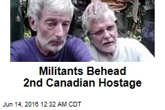 Militants Behead 2nd Canadian Hostage
