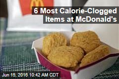 6 Most Calorie-Clogged Items at McDonald's