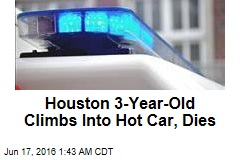 Houston 3-Year-Old Climbs Into Hot Car, Dies