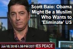 Scott Baio: Obama Might Be a Muslim Who Wants to 'Eliminate' US