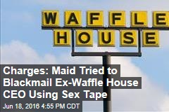 Charges: Maid Tried to Blackmail Ex-Waffle House CEO Using Sex Tape