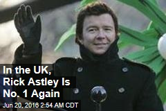 In the UK, Rick Astley Is No. 1 Again