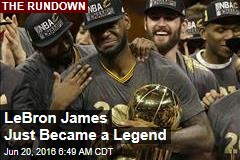 LeBron James Just Became a Legend