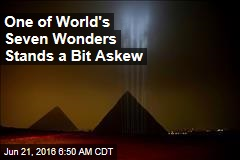 One of World's Seven Wonders Stands a Bit Askew
