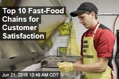 Top 10 Fast-Food Chains for Customer Satisfaction
