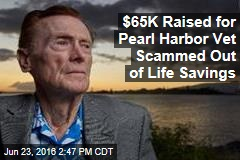 $65K Raised for Pearl Harbor Vet Scammed Out of Life Savings