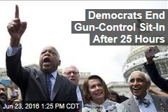 Democrats End Gun-Control Sit-In After 25 Hours