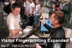 Visitor Fingerprinting Expanded