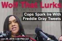 Cops Spark Ire With Freddie Gray Tweets